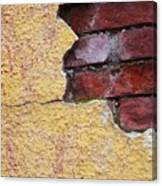 Brick Exposed Canvas Print