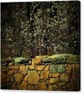 Brick Fence Canvas Print