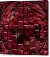 Brick Red Canvas Print
