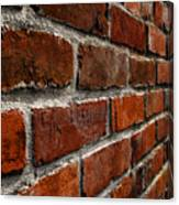 Brick Wall With Perspective Canvas Print