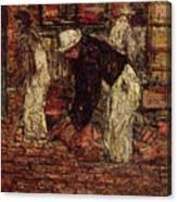 Bricklayers Canvas Print