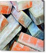 Bricks. Canvas Print
