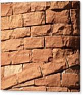 Bricks Spiraling Canvas Print
