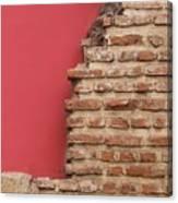 Bricks, Stones, Mortar And Walls - 3 Canvas Print