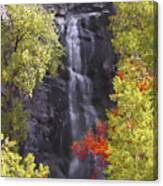 Bridal Veil Falls Black Hills Canvas Print