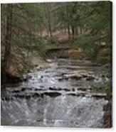 Bridal Veil Falls Ohio Canvas Print