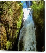 Bridal Veil Falls, Oregon Canvas Print