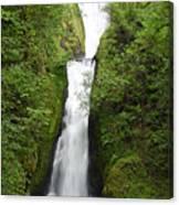 Bridal Veil Falls - Oregon Canvas Print
