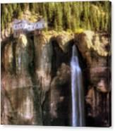 Bridal Veil Falls Power Plant - Telluride - Colorado Canvas Print