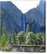 Bridal Veil Yosemite Canvas Print