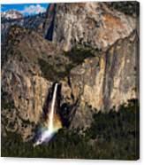Bridalveil Falls Rainbow #3 Canvas Print