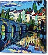 Bridge Across Canvas Print