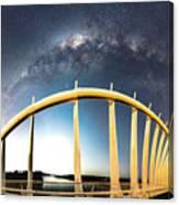 Bridge Across The Galaxy Canvas Print