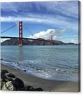 Bridge And Sea Canvas Print
