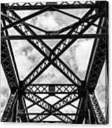 Bridge And Sky Canvas Print