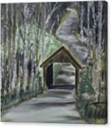 Covered Bridge Sleeping Bear Dunes  Canvas Print