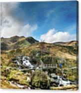 Bridge At Snowdonia Canvas Print