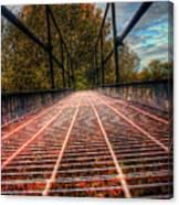 Bridge Crossing  Canvas Print