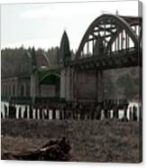 Bridge Deco Canvas Print
