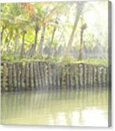 Bridge In Kerela Canvas Print
