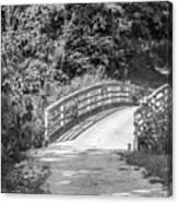 Bridge In The Path I Canvas Print
