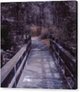 Bridge In The Shenandoah Canvas Print