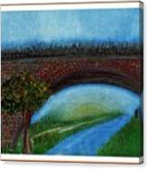 Bridge March Canvas Print