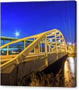 Bridge Meridian Sault Ste. Marie, Michigan -6792 Canvas Print