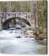 Bridge N Creek Canvas Print