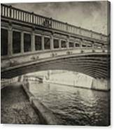 Bridge Of L'archeveche Canvas Print