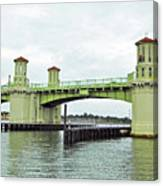 Bridge Of Lions From The Water Canvas Print