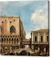 Bridge Of Sighs, Venice Canvas Print