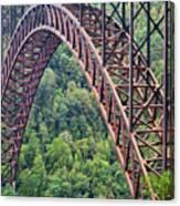 Bridge Of Trees Canvas Print