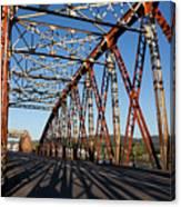 Bridge Of Treto, Colindres Canvas Print