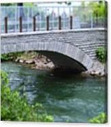 Bridge On The Niagara River Canvas Print