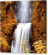 Bridge Over Cascading Waters Canvas Print