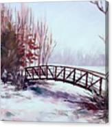 Snowy Span Canvas Print