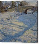 Bridge Over Lancaster Canal Canvas Print