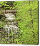 Bridge Over Little Clifty Falls Canvas Print