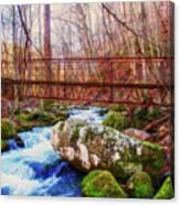 Bridge Over Mill Creek Canvas Print