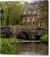 Bridge Over The River Clun Canvas Print