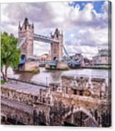 Bridge Over The Thames Canvas Print