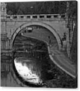 Bridge Over The Tiber Canvas Print