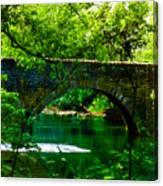Bridge Over The Wissahickon Canvas Print