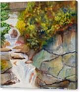 Bridge Over Traveled Water Canvas Print