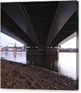Bridge Over Wexford Harbour Canvas Print