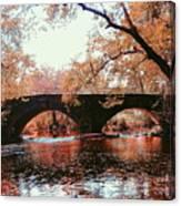 Bridge Over Yellow Breeches Creek Canvas Print