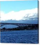 Bridge Sky Canvas Print