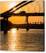 Bridge Sunrise 1 Canvas Print