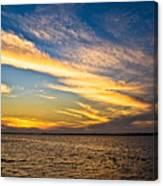 Bridge Through The Sky Canvas Print